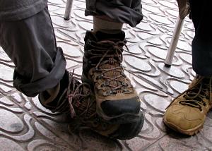 [Pilgrim Feet]