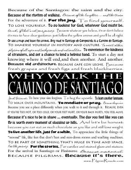 [Why Walk the Camino de Santiago]