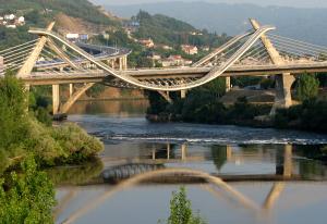 [Modern bridge]