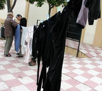[Pilgrim laundry]